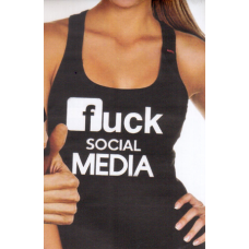 Μπλούζα  T-Shirt  Fuck Sotial Media