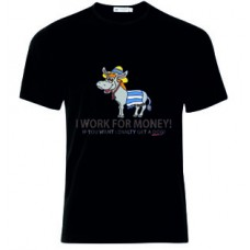 Μπλούζα  T-Shirt  I Work For Money