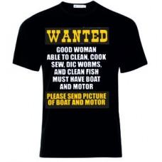 Μπλούζα  T-Shirt  Wanted