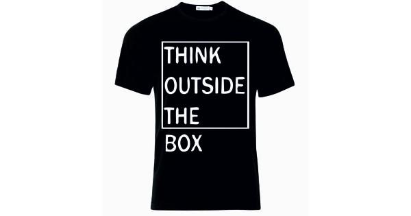aaf1e491fc8c Μπλούζα T-Shirt Think Outside The Box